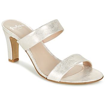 Shoes Women Mules Perlato ADINILE Silver