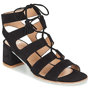 Shoes Women Sandals Perlato QUEZOKA Black