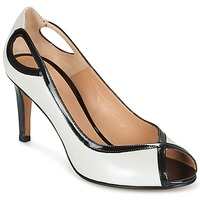 Shoes Women Court shoes Perlato FEJILI White / Black