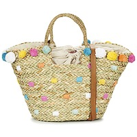Bags Women Shopper bags Pepe jeans MARLEY BEIGE / Multicoloured