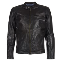 material Men Leather jackets / Imitation leather Pepe jeans LENNON Black