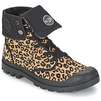 Shoes Women Mid boots Palladium BAGGY PN Leopard