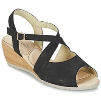 Shoes Women Sandals Rondinaud MENONGE Black