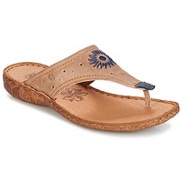 Shoes Women Flip flops Josef Seibel ROSALIE 01 Taupe