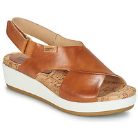 Shoes Women Sandals Pikolinos MYKONOS W1G Brown