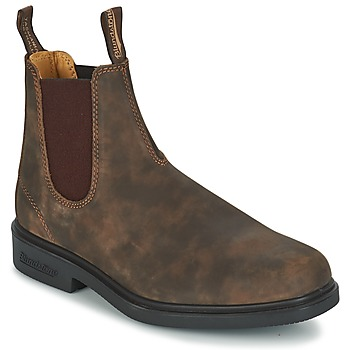 Shoes Mid boots Blundstone COMFORT DRESS BOOT Brown
