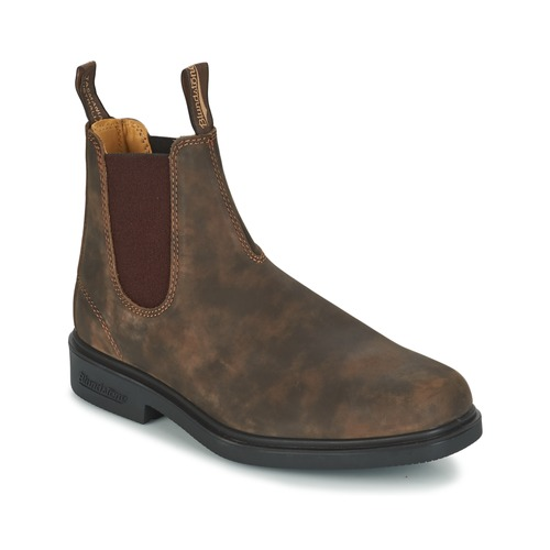 Shoes Men Mid boots Blundstone COMFORT DRESS BOOT Brown