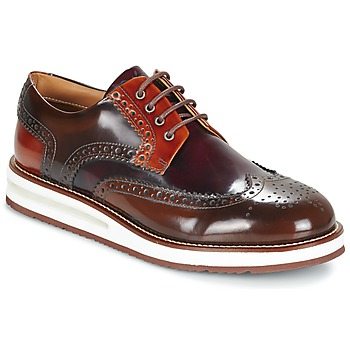 Shoes Men Derby shoes Barleycorn AIR BROGUE Brown / BORDEAUX