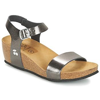 Shoes Women Sandals Le Temps des Cerises ASTRID Grey