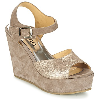 Shoes Women Sandals Myma RAPHIA Taupe