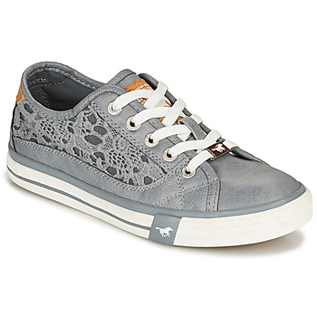 Shoes Women Low top trainers Mustang RADIANTA Grey