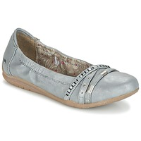 Shoes Women Ballerinas Mustang CRICA Grey