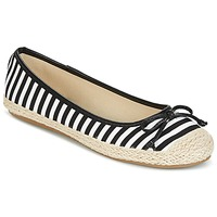 Shoes Women Ballerinas Wildflower Luck Black / White