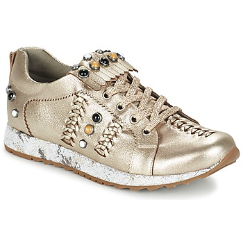 Shoes Women Low top trainers Mam'Zelle HORUS Gold