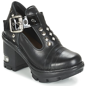 Shoes Women Low boots New Rock DEZDO Black