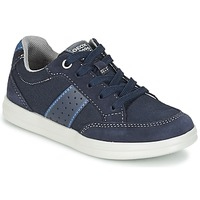 Shoes Boy Low top trainers Geox J ANTHOR B. B MARINE / Blue
