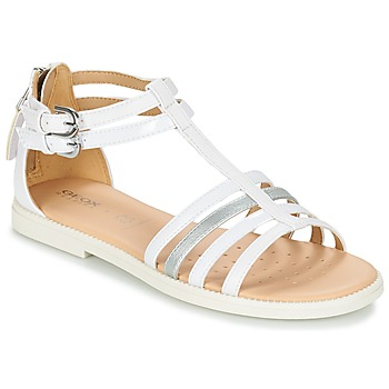 Shoes Girl Sandals Geox J S.KARLY G. D White
