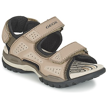 Shoes Boy Sports sandals Geox J BOREALIS B. B Sable