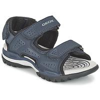 Shoes Boy Sports sandals Geox J BOREALIS B. B Marine