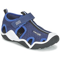 Shoes Boy Sports sandals Geox J WADER C MARINE