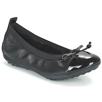 Shoes Girl Ballerinas Geox J PIUMA BAL F Black
