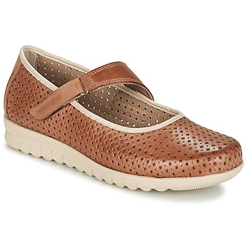 Shoes Women Ballerinas Pitillos FARCO Brown