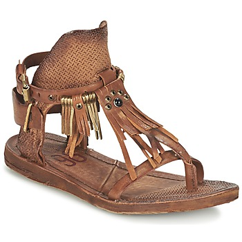 Shoes Women Sandals Airstep / A.S.98 RAMOS Brown