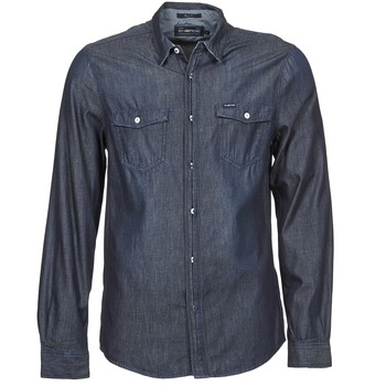 material Men long-sleeved shirts Energie VETTEL Blue