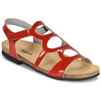 Shoes Women Sandals Arcus BERNER Red