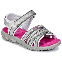 Shoes Girl Sports sandals Teva TIRRA Silver / Magenta