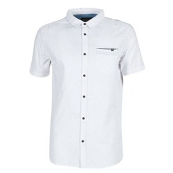 material Men short-sleeved shirts Rip Curl STARDUST White