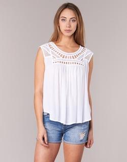 material Women Tops / Sleeveless T-shirts Rip Curl AMOROSA TOP White