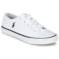 Shoes Children Low top trainers Ralph Lauren DYLAND White