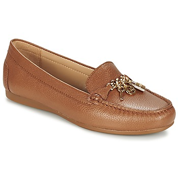 Shoes Women Loafers MICHAEL Michael Kors SUKI MOC Brown