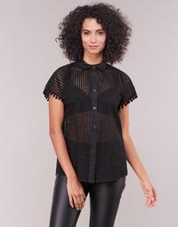 material Women Shirts Love Moschino WCC0480 Black