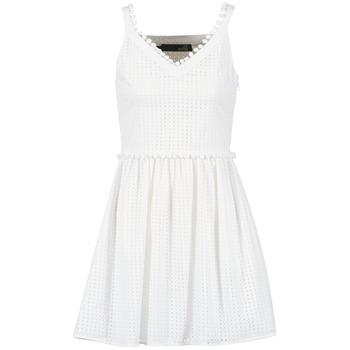 material Women Short Dresses Love Moschino WVF3880 White