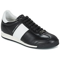 Shoes Men Low top trainers Roberto Cavalli 2042A Black / White