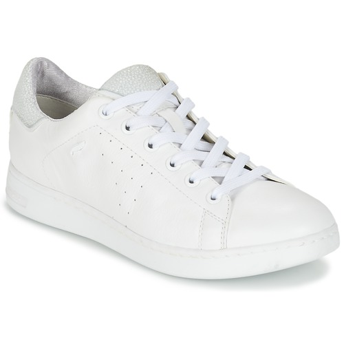 Socialista Rebaño polvo  Geox JAYSEN A White - Fast delivery | Spartoo Europe ! - Shoes Low top  trainers Women 80,00 €
