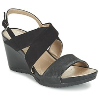 Shoes Women Sandals Geox D NEW RORIE A Black