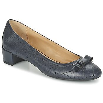 Shoes Women Ballerinas Geox D CAREY A MARINE
