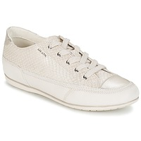 Shoes Women Low top trainers Geox NEW MOENA White