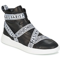 Shoes Men High top trainers Kenzo CALVIN Black