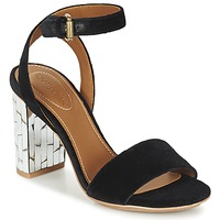 Shoes Women Sandals See by Chloé SB28001 Black / Velvet