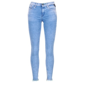 material Women 3/4 & 7/8 jeans Replay JOI Blue / Medium