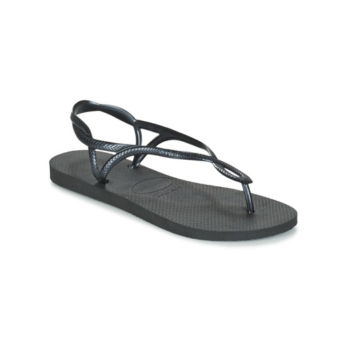 Shoes Women Flip flops Havaianas LUNA Black