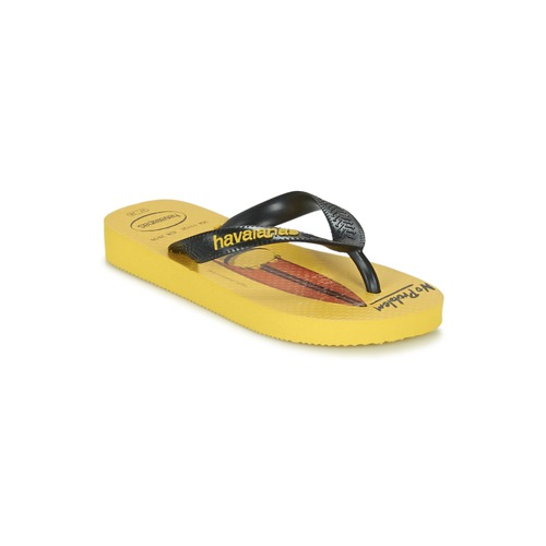 Shoes Children Flip flops Havaianas KIDS MINIONS Yellow / Black