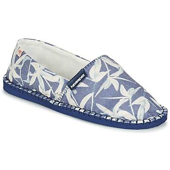 Shoes Espadrilles Havaianas ORIGINE ORQUIDEAS Marine / White