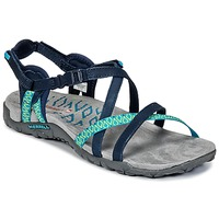 Shoes Women Sports sandals Merrell TERRAN LATTICE II Marine / Green