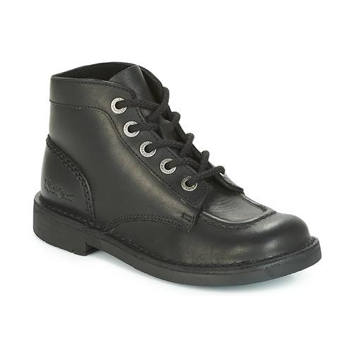 Shoes Women Mid boots Kickers KICK COL PERM Black