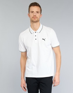 material Men short-sleeved polo shirts Puma PUMA HERO POLO White